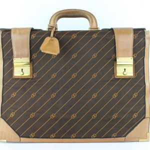 Gucci (Ultra Rare) Monogram Luggage 4gz1126 Brown